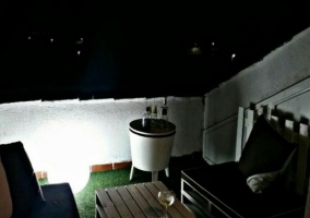 Vistas de la terraza chill out