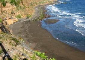 Entorno playa negra El Socorro