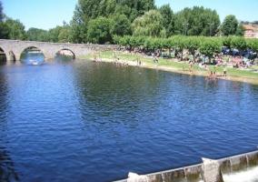 Zona de piscinas naturales