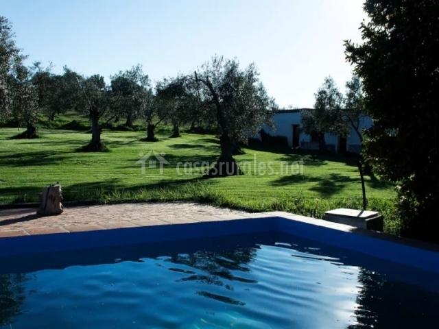 Casa rural huerta del pirata casas rurales en fuente de for Casas rurales en badajoz con piscina