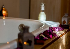 Suite amplia con su bañera