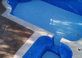 Vistas de la piscina de la casa