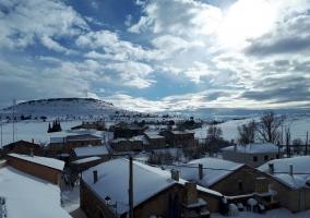 El pueblo con nieve