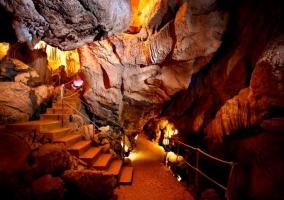 Zona de las cuevas