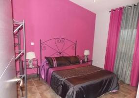 Dormitorio con detalle
