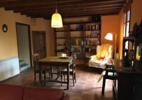 Sala de estar con espacio