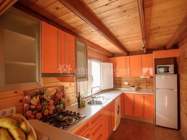 Cocina completa con muebles