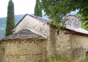 Zona de la iglesia medieval
