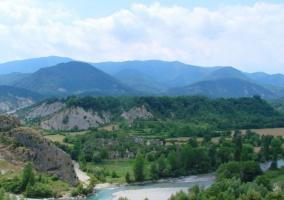Zona de paisajes naturales