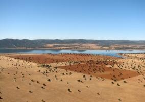 Zona de paisajes en Retuerta