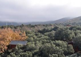 Zonas naturales y casas