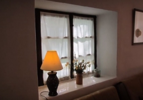 Sala de estar con sus detalles