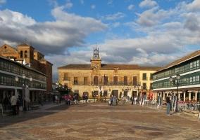 Zona centro de Almagro