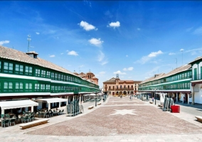 Zona de la plaza Mayor