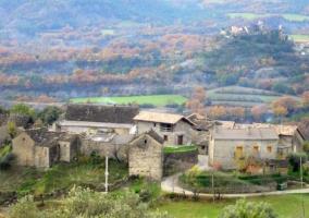 Zona de la aldea de Guaso