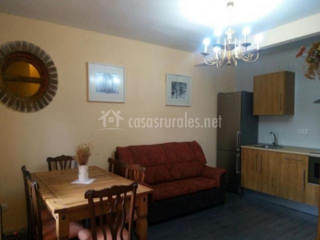 Apartamento 1 con sillones