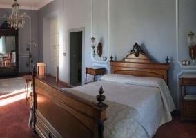 Señorial dormitorio amplio