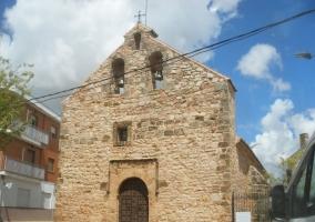 Zona de la iglesia en el casco urbano