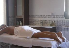 Sala de masajes en el SPA