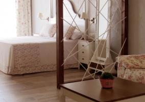 Suite con cama amplia