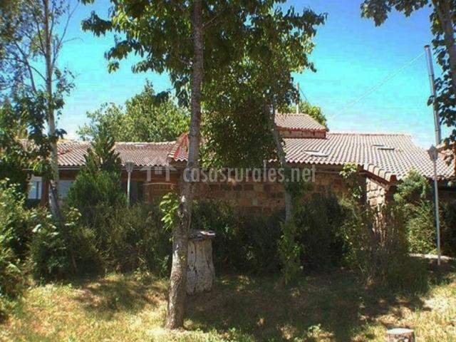 Jard n mandala casa valle de brezos en bra osera palencia for Jardin mandala