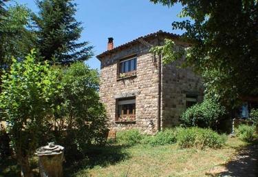 Jardín Mandala- Casa Valle de Brezos - Brañosera, Palencia