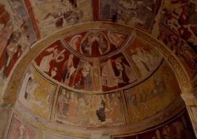 Zona del interior de la iglesia