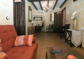 Sala de estar a la entrada