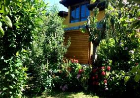 La casa entre naturaleza