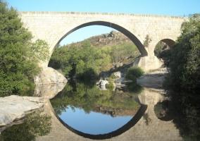 El puente en Burgohondo