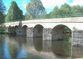Zona del puente de Burgohondo