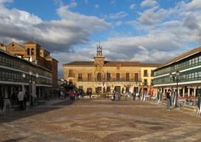 Zona de la plaza de Almagro