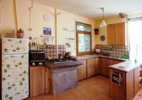 Cocina de la casa tipo office