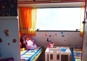Vistas de la caseta infantil