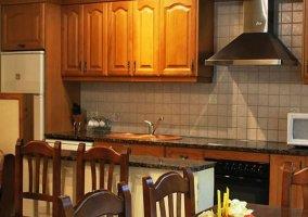 Cocina office con la zona