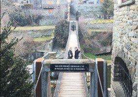 Zona del puente en el entorno