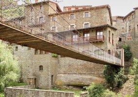 Zonas naturales y el puente