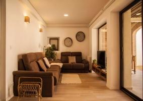 Sala de estar con los sillones