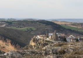Zona del pueblo con vistas