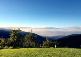 Zonas verdes con vistas