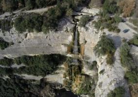 Zonas con saltos de agua