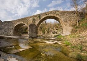 Zona del puente medieval