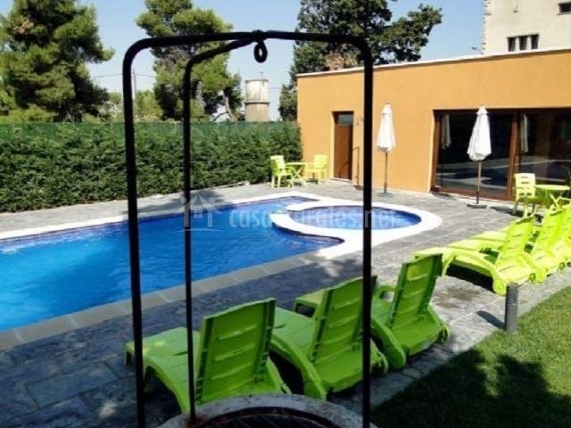 Villa manresana casas rurales en sant ramon lleida - Casas rurales lleida piscina ...