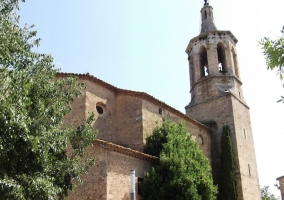 Zona de la iglesia de Sant Pere