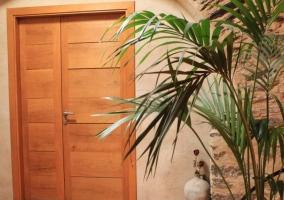 Estancias de la casa con puertas de madera