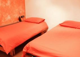 Familiar con camas separadas