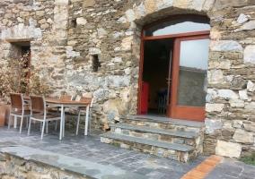 Vistas de la entrada con espacios