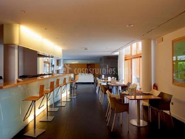 Cafetería totalmente moderna
