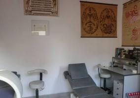 Sala de fidioterapia