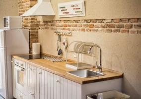 Cocina de la casa con armario